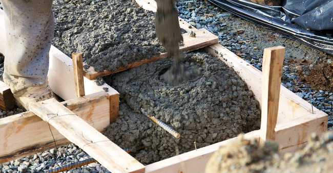 Как правильно приготовить бетонную смесь для заливки фундамента доставка бетона автобетононасосом